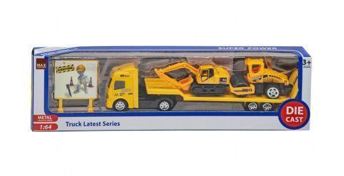 Трейлер (желтый) 677