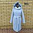 Стильное пальто женское демисезонное с капюшоном, фото 4