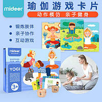 """Детская игра для физической активности """"Йога"""" с карточками Mideer (MD2034 )"""