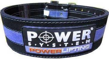Пояс атлетический Power System Lafting Blue