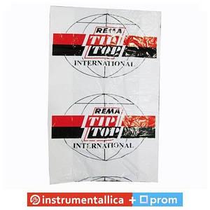 Пакет для шин 100 см x 105 см 20 микрон красно-черный логотип TipTop