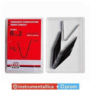 Ножи для нарезки протектора радиальные R2 5мм упаковка 20шт Tip Top Германия
