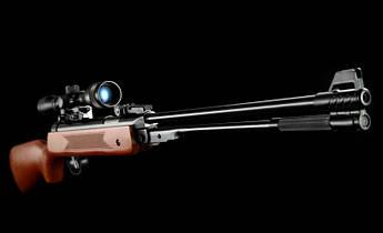 Пневматична гвинтівка PRO Germany WF600 4,5 мм оптика 3-7х28