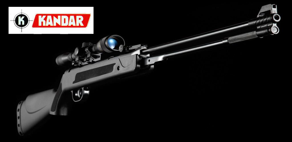 Пневматична гвинтівка KANDAR WF600P 4,5 мм оптика 3-7х28