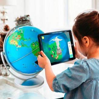 Обучающая игрушка с дополненной реальностью – ГЛОБУС ORBOOT, фото 2