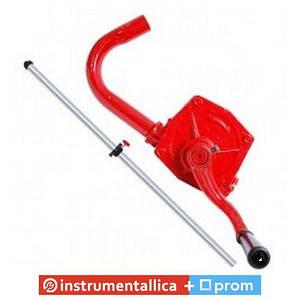 Насос для масла ручной роторный 26л/мин HT-0067 Intertool