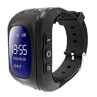Детские смарт-часы Smart Watch Q50 черные с GPS