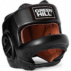 """Шлем боксерский с бампером """"Fort"""" Green Hill"""