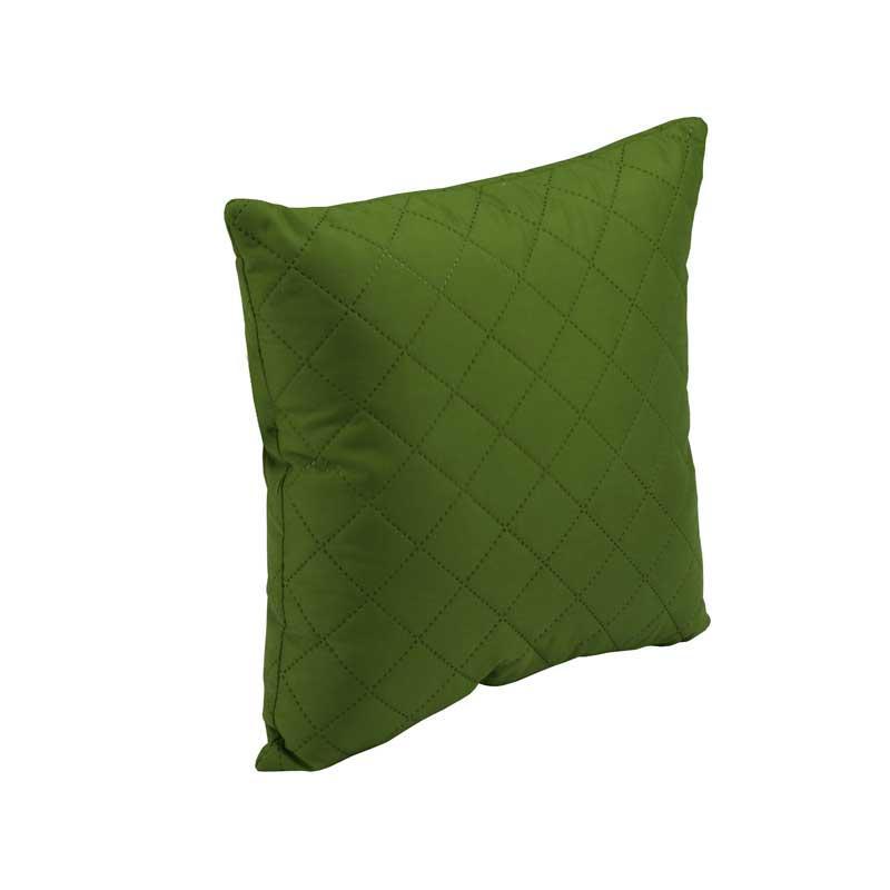 Подушка Руно Декоративна Зелений ромб