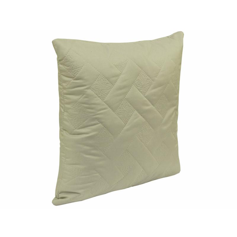Подушка Руно Декоративная Серая лилия