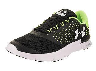 Кроссовки для бега мужские Under Armour Micro G Speed Swift 2 черно-зеленые
