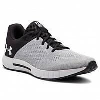 Кроссовки для бега мужские Under Armour Micro G Pursuit бело-черные
