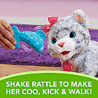 Интерактивный снежный леопард Фуриал  FurReal Friends My Baby Snow Leopard Interactive Plush, фото 4
