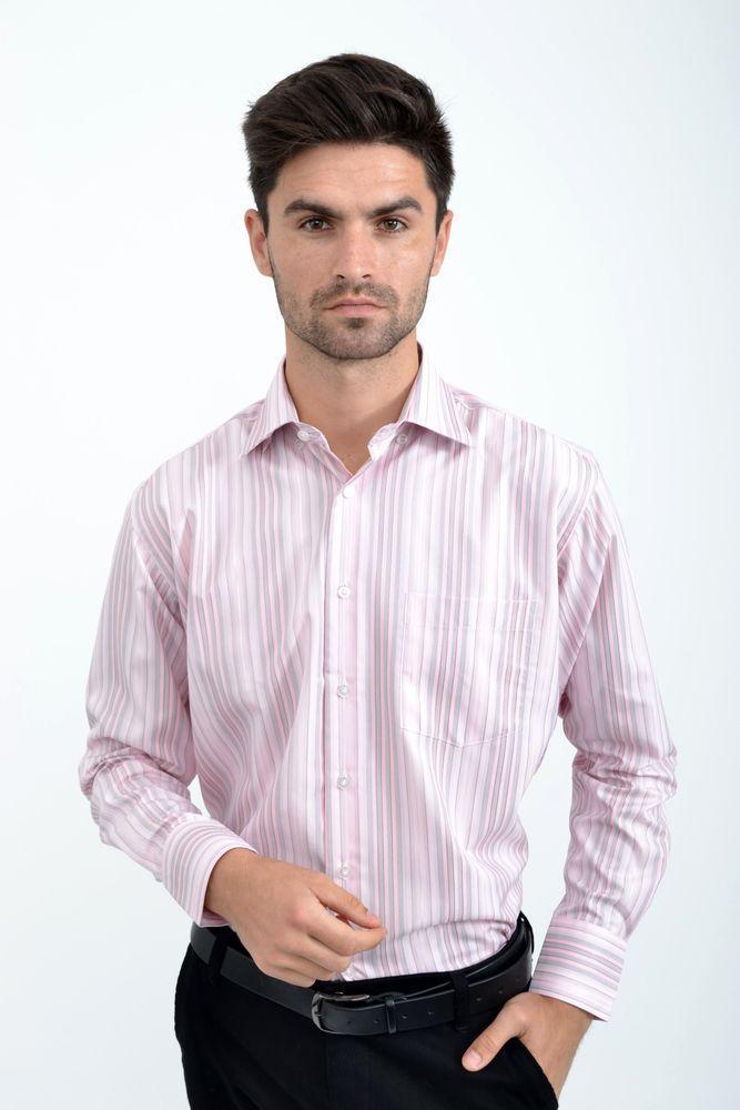 Рубашка 9021-13 цвет Светло-розовый
