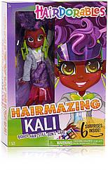 Большая Кукла Хэрдораблс Кели 26 см Модный показ Оригинал! Hairdorables Hairmazing Kali Fashion