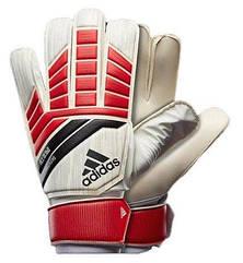 Перчатки вратарские Adidas Pre Training CF1366 белый/красный