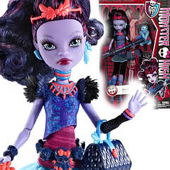 Кукла Monster High Джейн Булитл Jane Boolittle с ленивцем базовая Монстр Хай