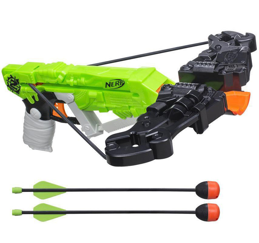 Бластер Нерф Арбалет ВрозБолт Зомби страйк Nerf Zombie Strike Wrathbolt Crossbow Blaster