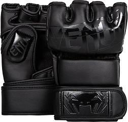 Перчатки ММА Venum MMA Gloves Black