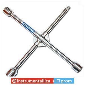 Ключ балонный крестовой 17мм x 19мм x 21мм x 1/2 KBK2 Стандарт усиленный