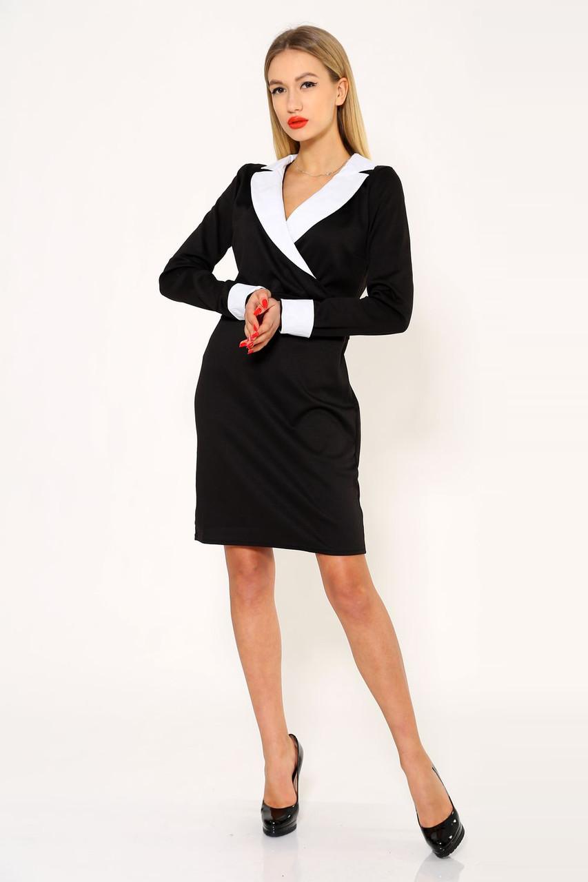 Платье женское 104R1192 цвет Черный