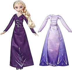 Холодное сердце 2 Эльза с платьем Дисней Disney Frozen 2 Elsa Hasbro