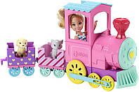 Барби клуб челси и поезд чух-чух Barbie Club Chelsea Train