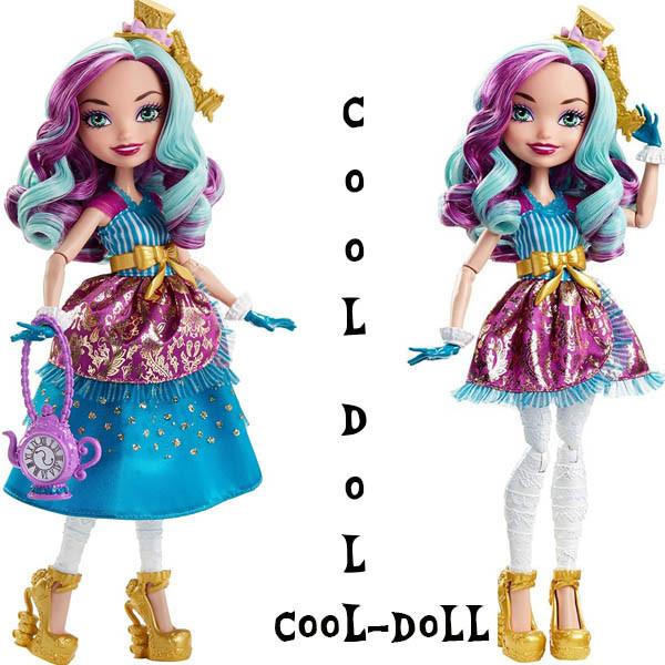 Ever After High Меделин Хеттер Madeline Hatter  Powerful Princess Tribe серия Могущественные принцессы