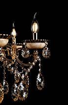 Люстра свеча LV8010/10+5 (GAB), фото 3