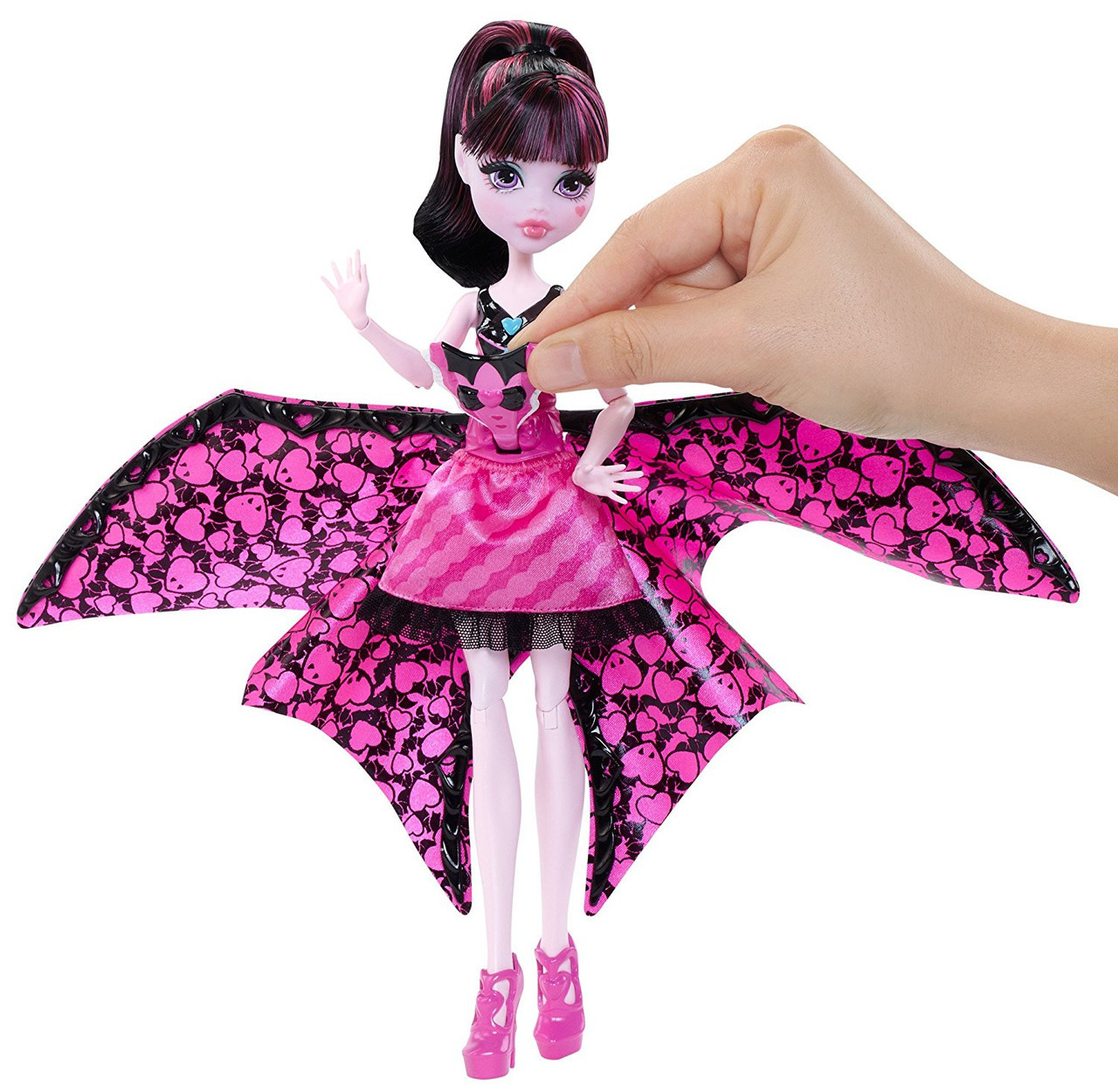 Монстер хай Дракулаура  Летуча Monster high Draculaura Bat Transformation Монстер хай Дракулаура  Летучая мышь