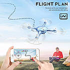 Квадрокоптер SYMA X5UW FPV 720P HD Wi-Fi камера + Видеокарта + бонус-батарея, фото 2