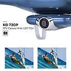 Квадрокоптер SYMA X5UW FPV 720P HD Wi-Fi камера + Видеокарта + бонус-батарея, фото 3