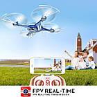 Квадрокоптер SYMA X5UW FPV 720P HD Wi-Fi камера + Видеокарта + бонус-батарея, фото 5
