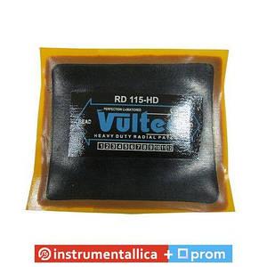 Пластырь радиальный Vultec RD-115HD, 75х90мм (желтый)