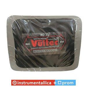 Пластырь радиальный Vultec RD-33, 100х125мм (серый)