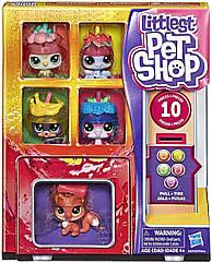 Лител пет шоп Набор Петов В Холодильнике Оригинал Hasbro Littlest Pet Shop Slushie Squad