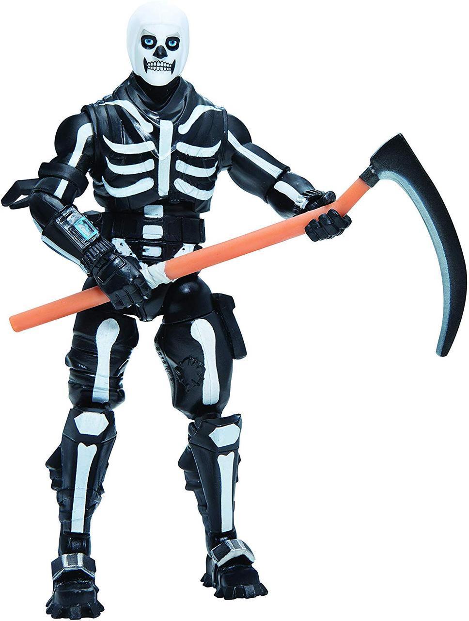 Фортнайт Фигурка Опустошитель Скул Трупер от Jazwares  Fortnite Solo Mode Skull Trooper