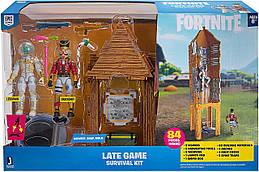 Фортнайт Большой игровой строительный сет две фигурки Левитан и Крикшот  Jazwares Fortnite Late Game
