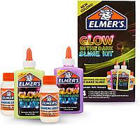 Elmers Клей Элмерс для изготовления слаймов светится в темноте из США Elmer's Glow-in-the-Dark Slime