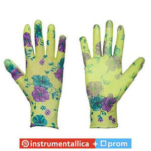 Защитные перчатки, Pure Floxy, полиуретан, размер 6 RWPFL6 Bradas