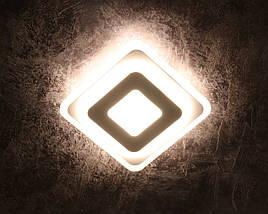 Светильник потолочный LED 2234/200 Белый 4х20х20 см., фото 2