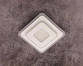 Светильник потолочный LED 2234/200 Белый 4х20х20 см., фото 3