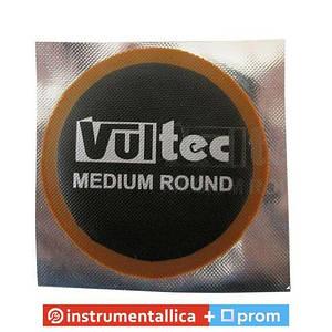 Латка камерная Vultec Евростиль круглая 60 мм упаковка 30 штук 012V Medium Round