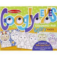 Набор для творчества Melissa&Doug Раскраска с глазами Лица (MD15169)