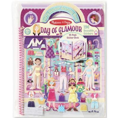 Набір для творчості Melіssa&Doug Об'ємні багаторазові наклейки Гламур (MD19412)