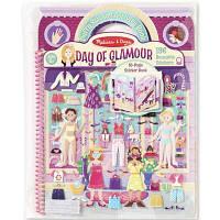 Набір для творчості Melіssa&Doug Об'ємні багаторазові наклейки Гламур (MD19412), фото 1