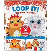 Набор для творчества Melissa&Doug Бумажный кукольный театр Ферма (MD30194)