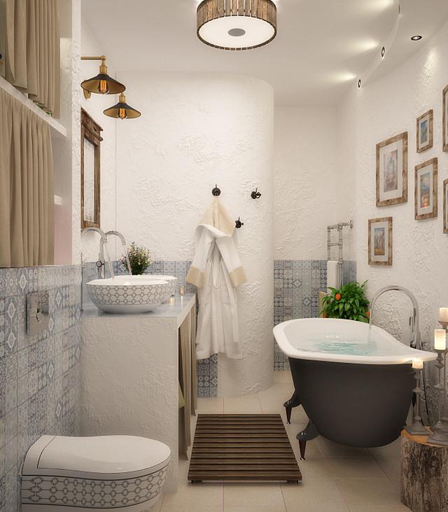 Описание: H:\Стили образцы интерьера\ванна\Арт керам\ArtCeram Blend с декором.jpg