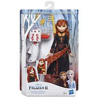 Кукла Hasbro Frozen Холодное сердце 2 Анна с аксессуарами для волос (E6950_E7003)