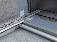 Душевой канал с вертикальным фланцем 585мм ACO Shower Drain C-line